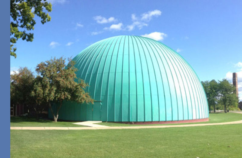 Longway Planetarium Exterior